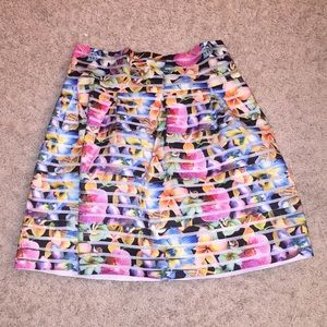 Dresses & Skirts - New Multi Floral Skirt Size Small